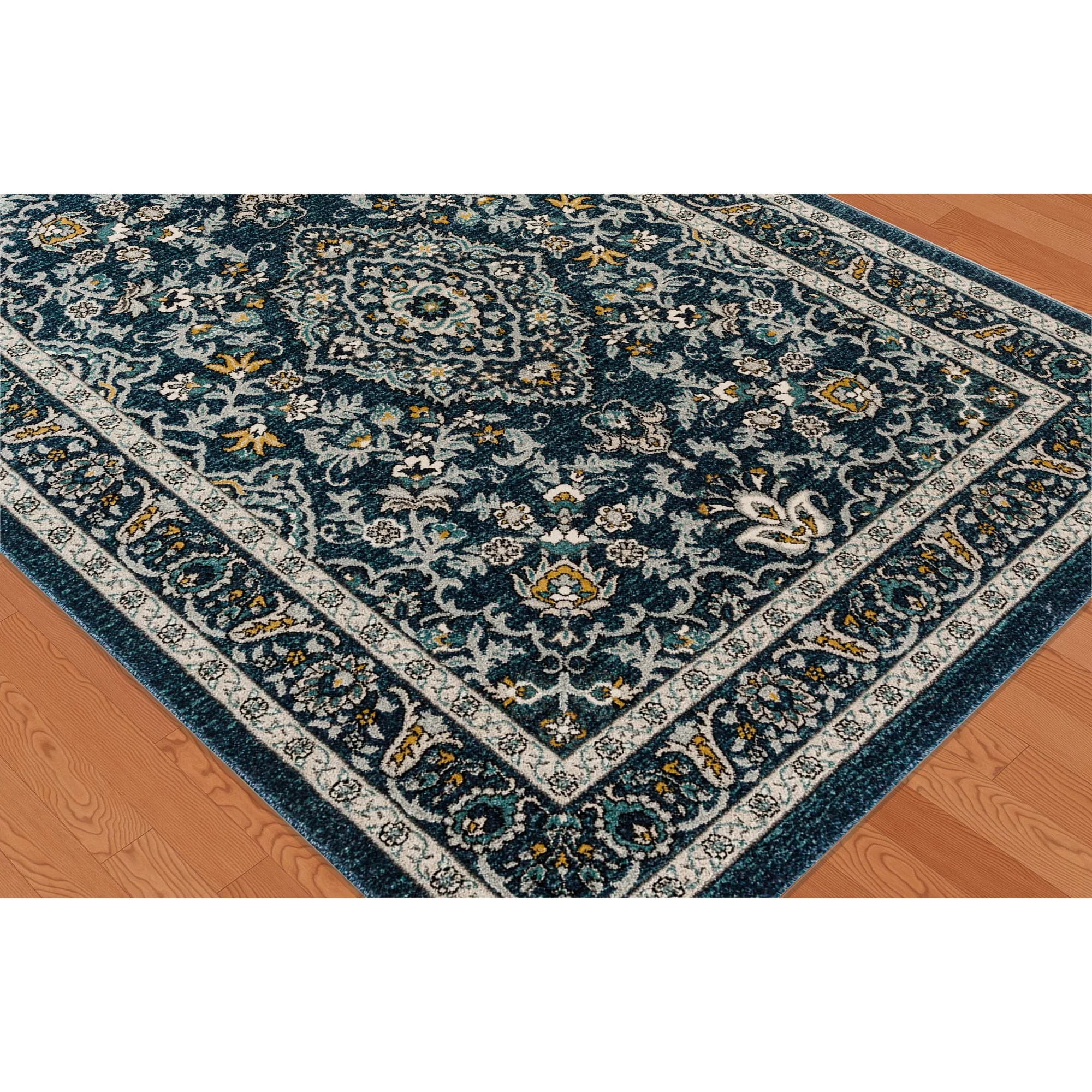 Alcott Hill Duanesburg Navy Area Rug  Wayfair