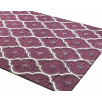 Alcott Hill Norgate Hand-Tufted Lilac Area Rug & Reviews ...
