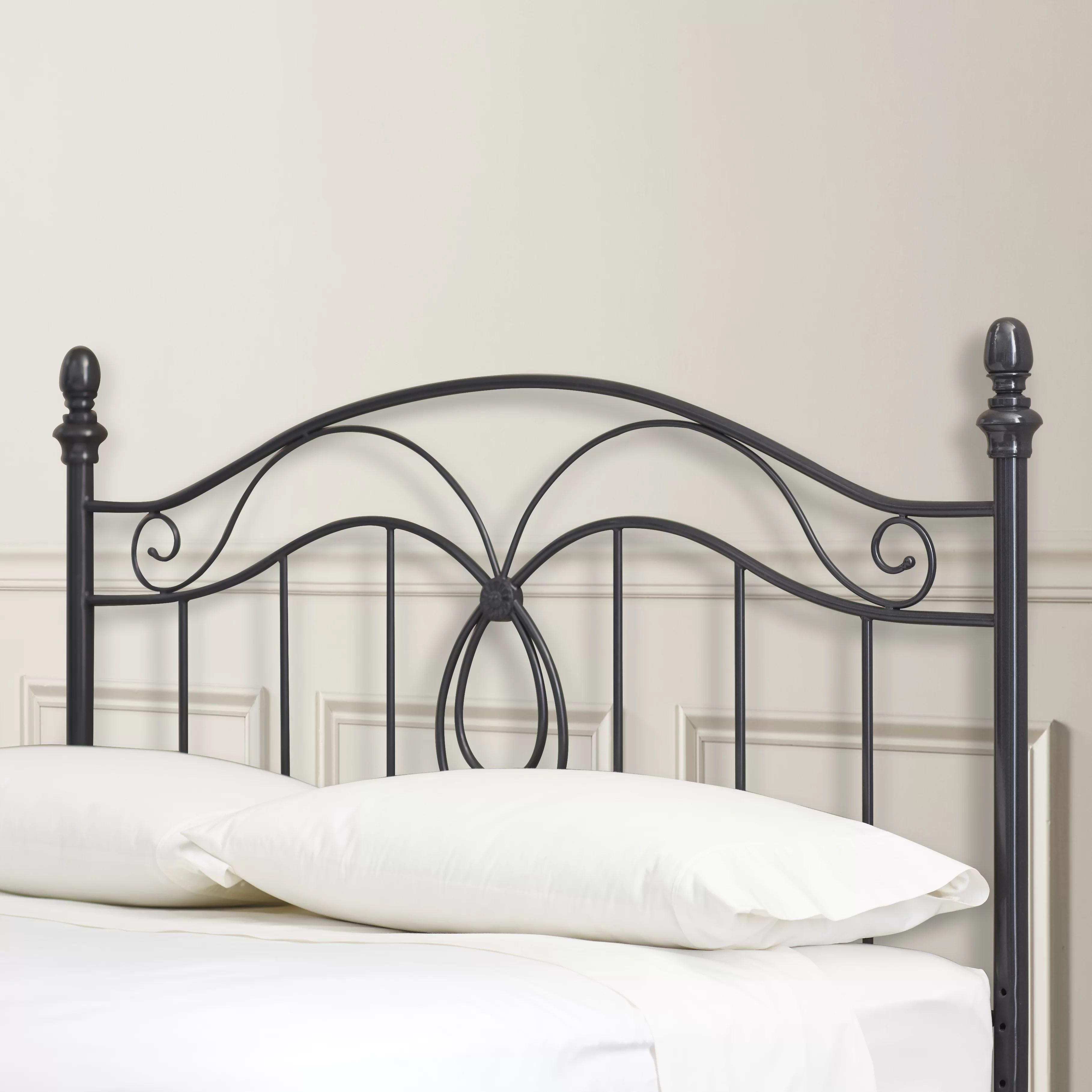 Charlton Home Crocker Bedroom Metal Headboard  Reviews
