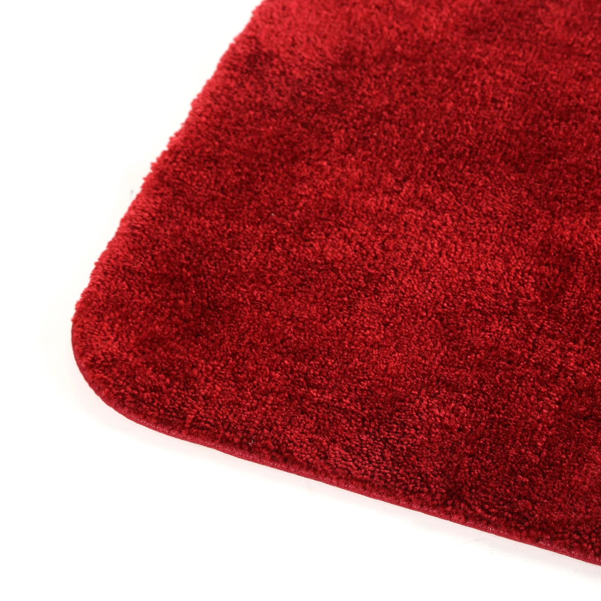 Charlton Home Stanley 2 Piece Red Bath Rug Set  Reviews