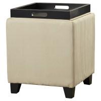 Brayden Studio Nicholson Cube Storage Ottoman & Reviews ...