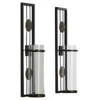 Brayden Studio Contemporary Wall Sconce Candle Holder ...