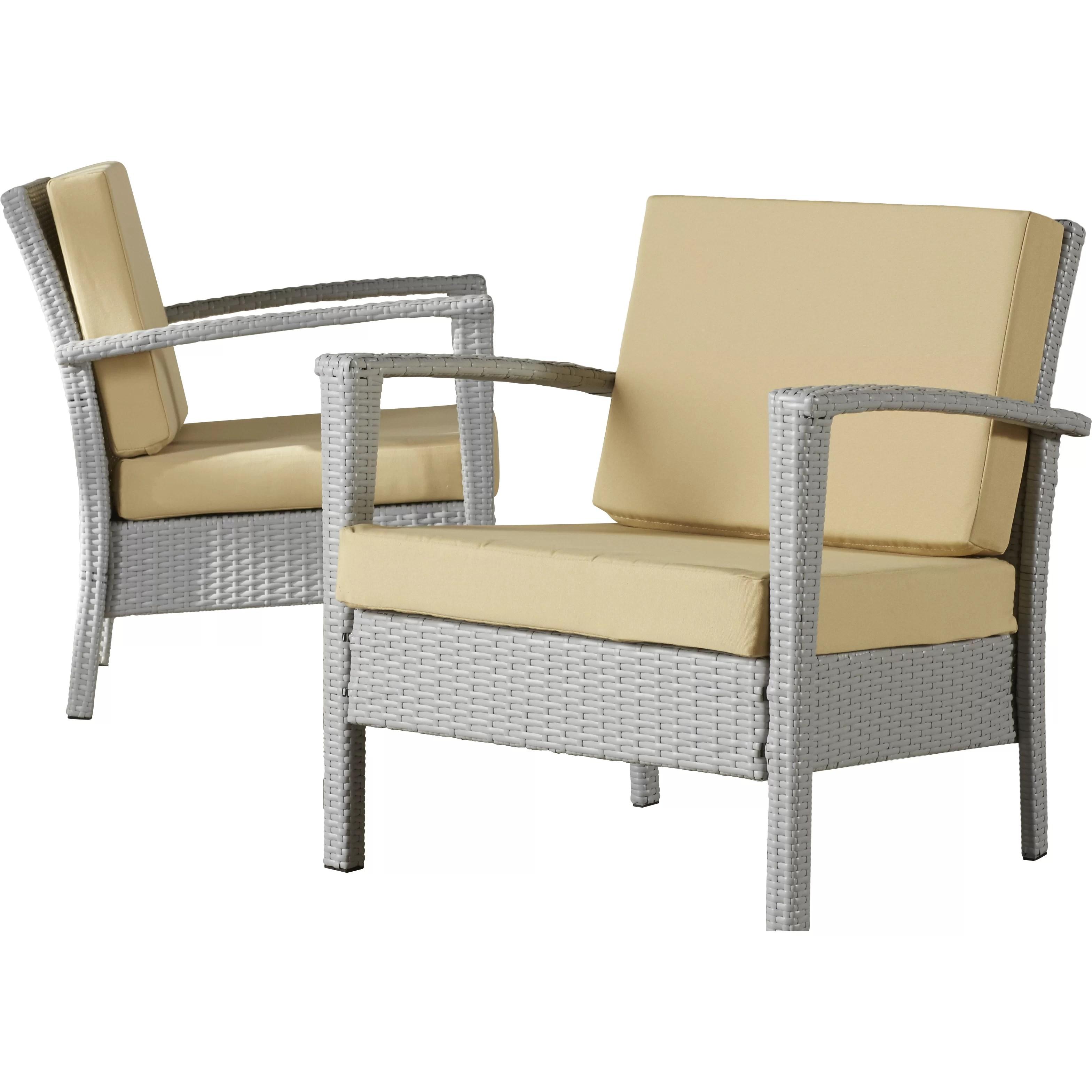1 piece patio chair cushions best gaming uk 2017 brayden studio piscataway 4 outdoor dining