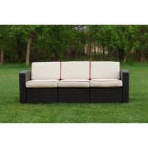 Brayden Studio Loggins Patio Sofa With Cushion &