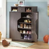 Wade Logan Redland Redline 20-Pair Shoe Storage Cabinet ...