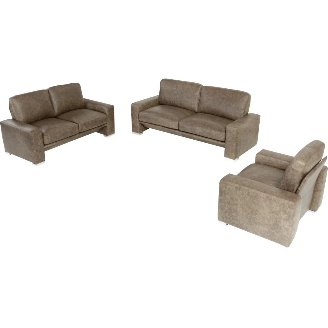 3 piece white leather sofa set sure fit cover uk wade logan northbridge wayfair