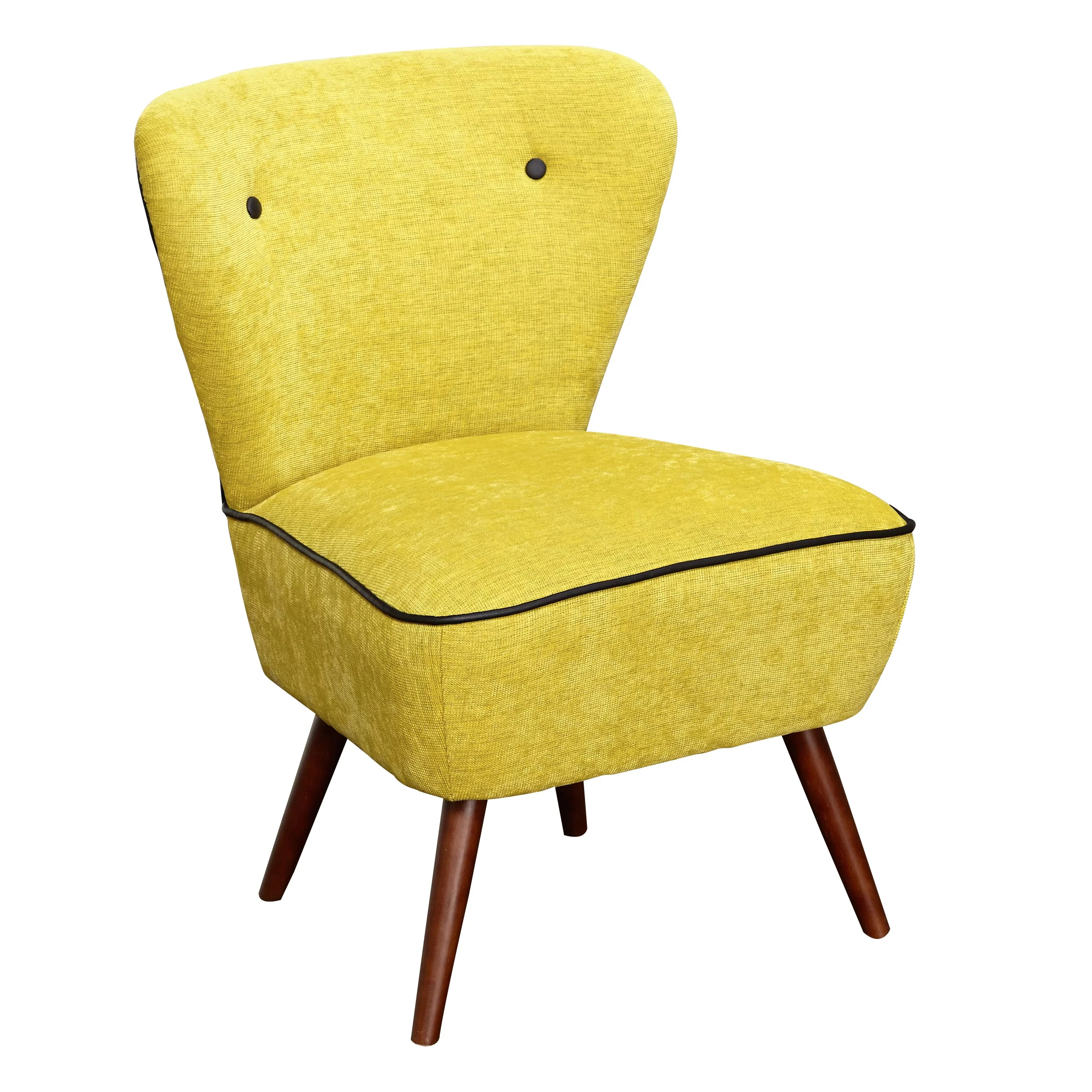 Langley Street Portland Slipper Chair  Reviews  Wayfair