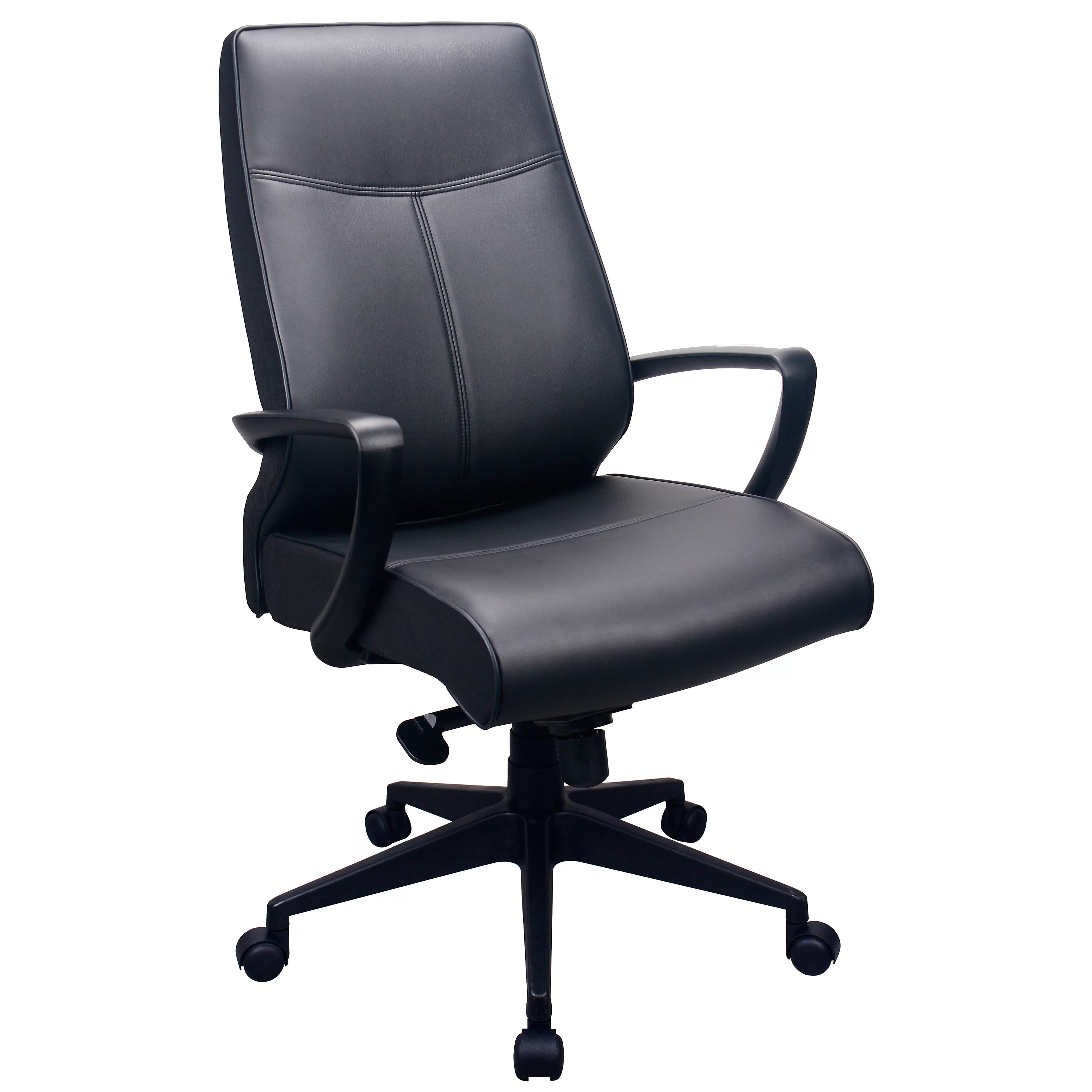 Tempur Pedic Office Chair Tempur Pedic High Back Leather Executive Office Chair With
