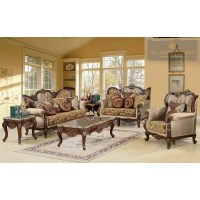 BestMasterFurniture Jenna 3 Piece Traditional Living Room ...