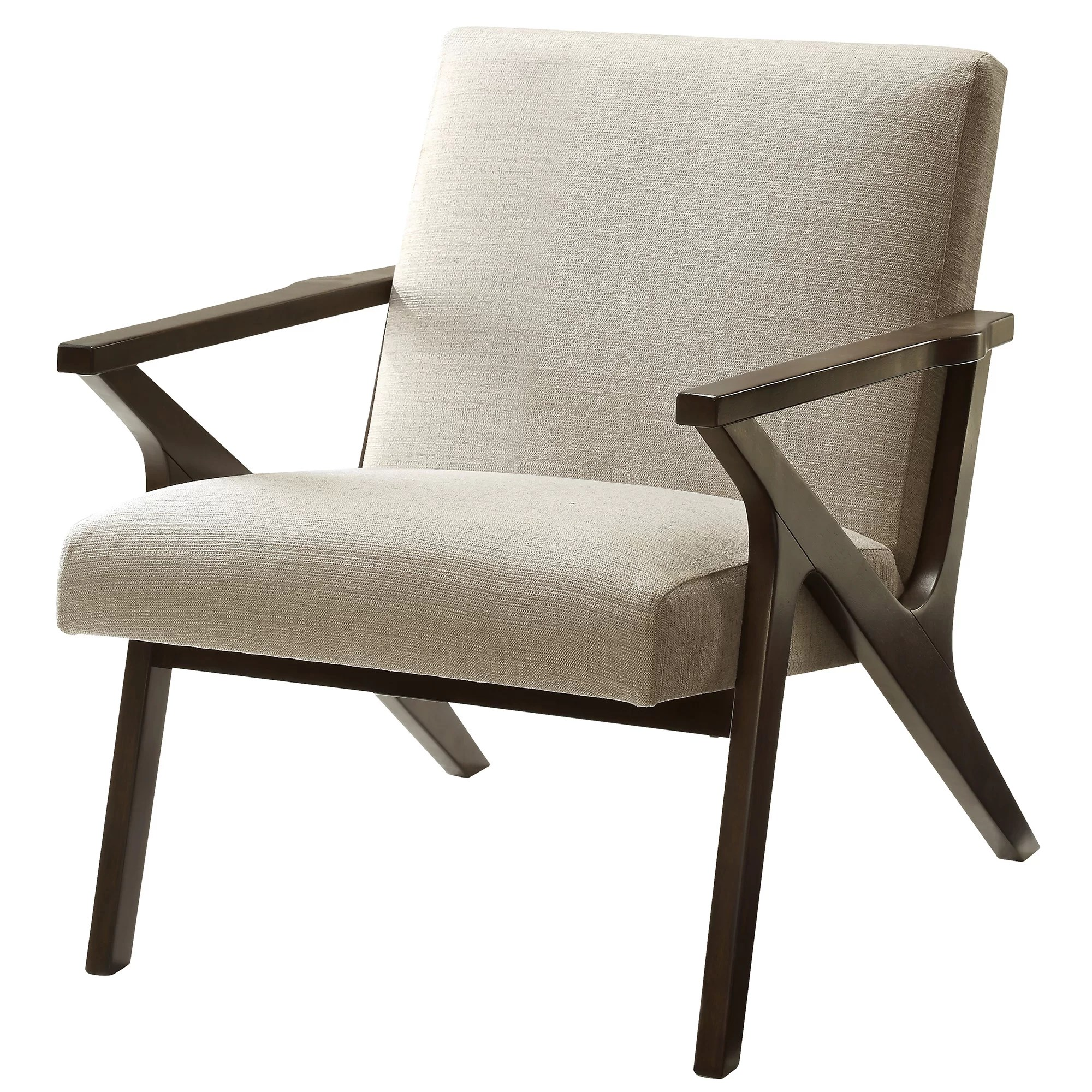 Upholstered Accent Chairs With Arms Nspire Upholstered Accent Arm Chair And Reviews Wayfair