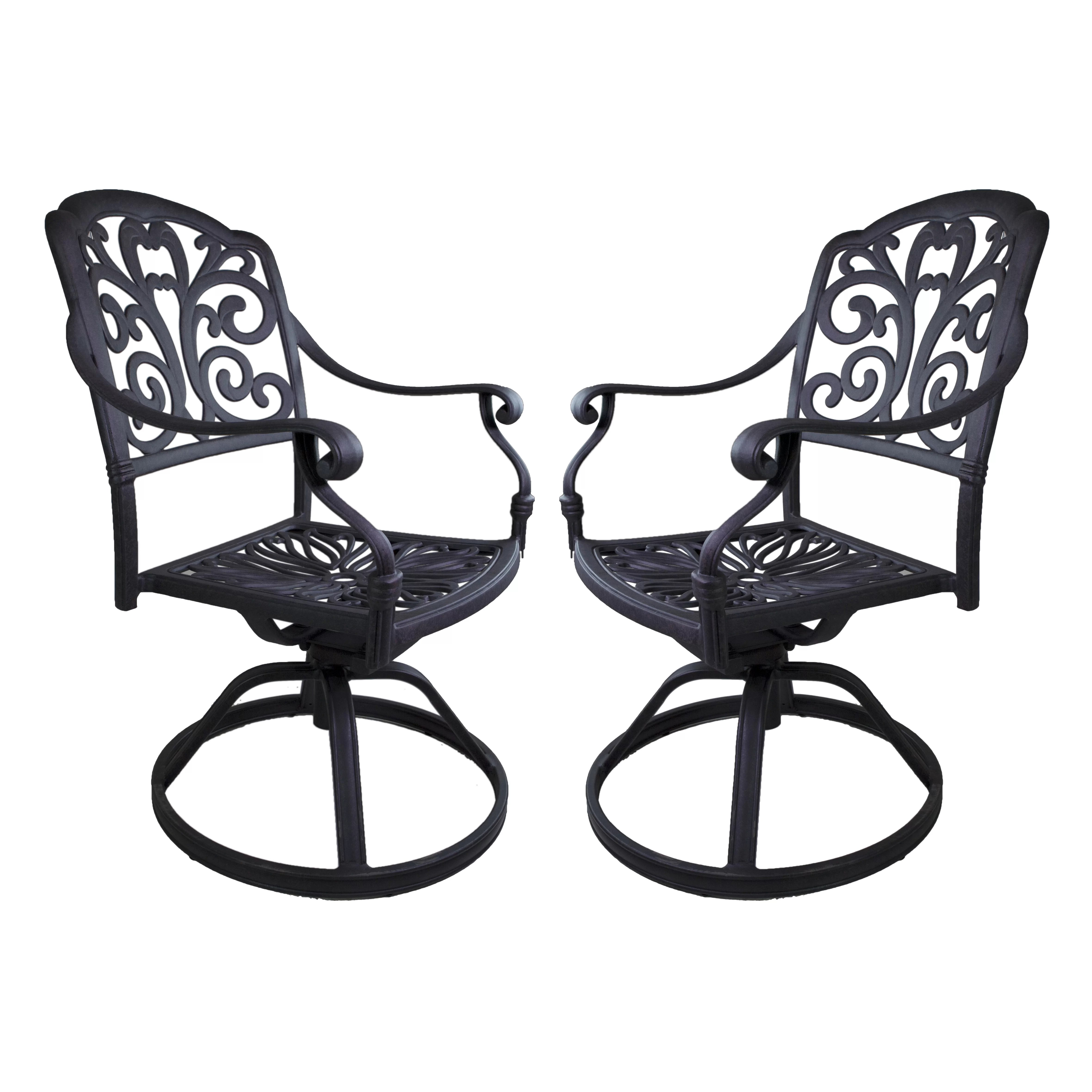 Rocking Swivel Chair California Outdoor Designs Roma Swivel Rocking Chair Set