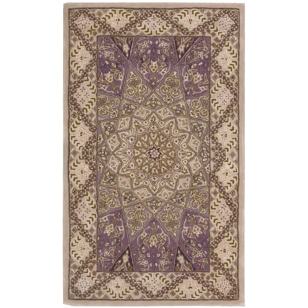 Nourison 2000 Brown Red Area Rug &