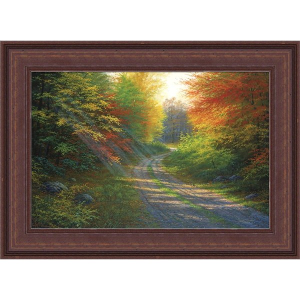HadleyHouseCo 'October Light' by Charles White Framed Wall ...