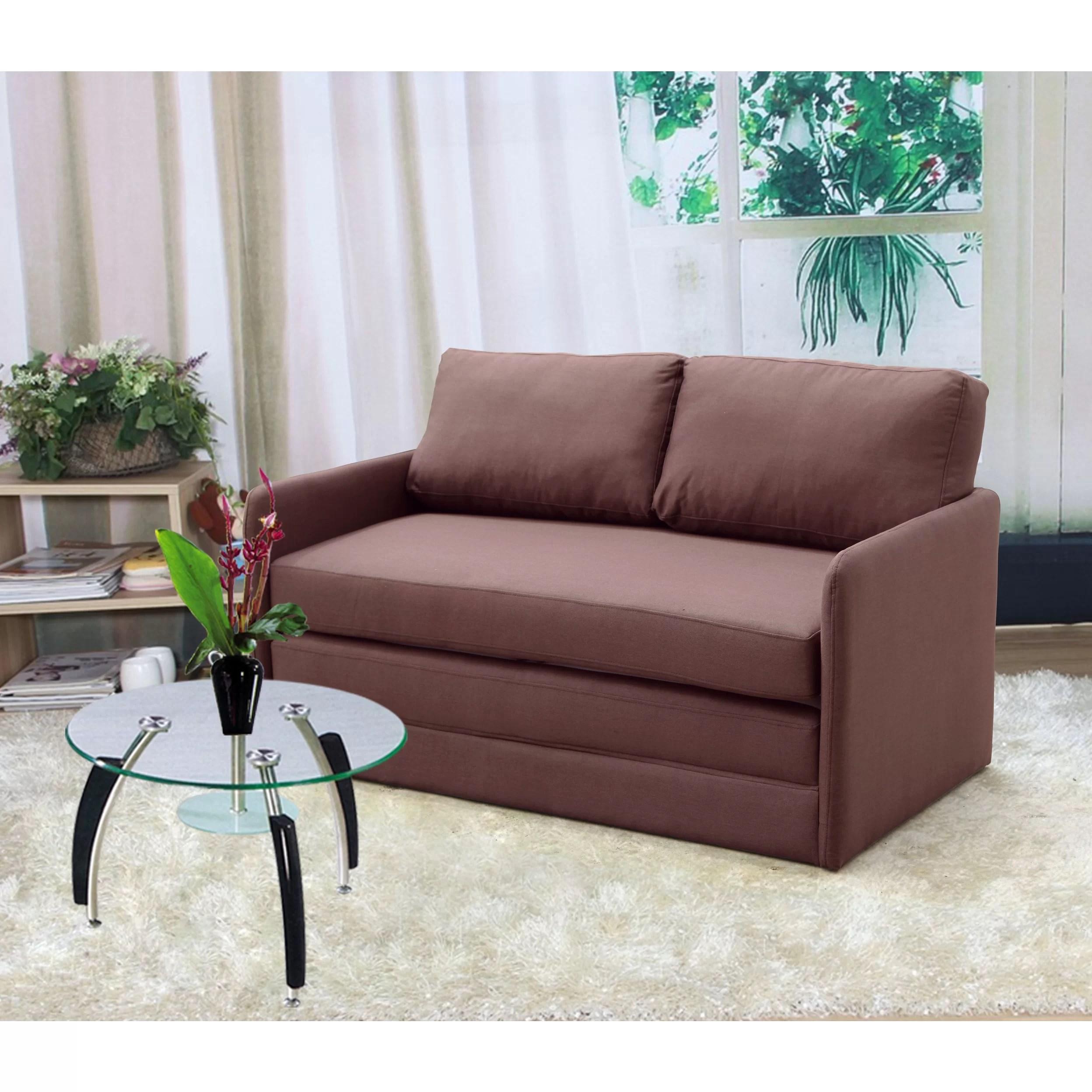 sofa bed bestway 5 in 1 best modern sleepers container reversible sleeper loveseat and reviews wayfair