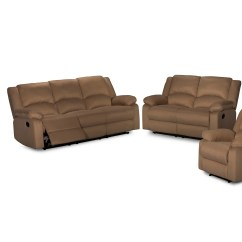 Ryker Reclining Sofa And Loveseat 2 Piece Set Small Single Bed Chair Container Recliner Reviews Wayfair Ca
