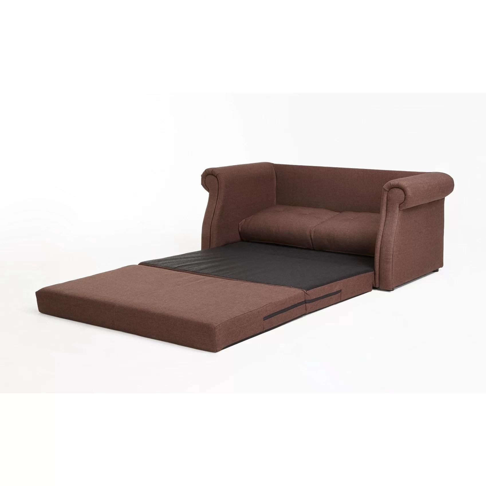 reversible sofa skiftebo dark grey bed container sleeper and reviews wayfair