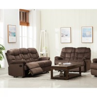 Container Reclining Sofa and Loveseat Set   Wayfair