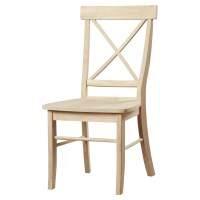 August Grove Sawyer Cross Back Side Chair & Reviews | Wayfair