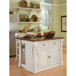 Monarch Kitchen Island Aid Ice Maker August Grove Shyanne 3 Piece Set And Reviews