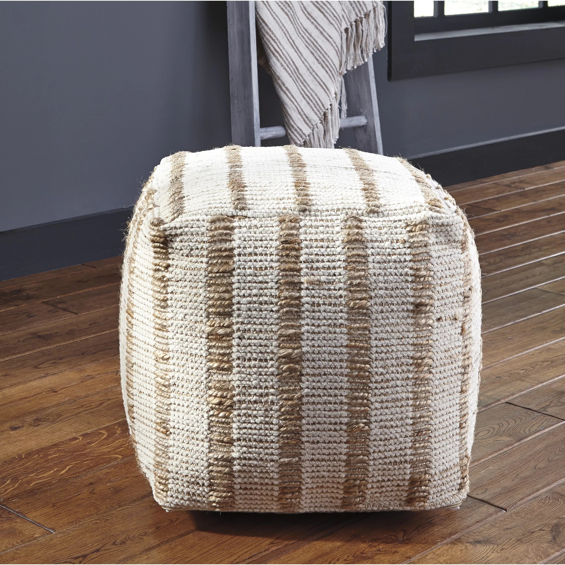 Pouf Chair Beachcrest Home Venetia Pouf Ottoman Wayfair