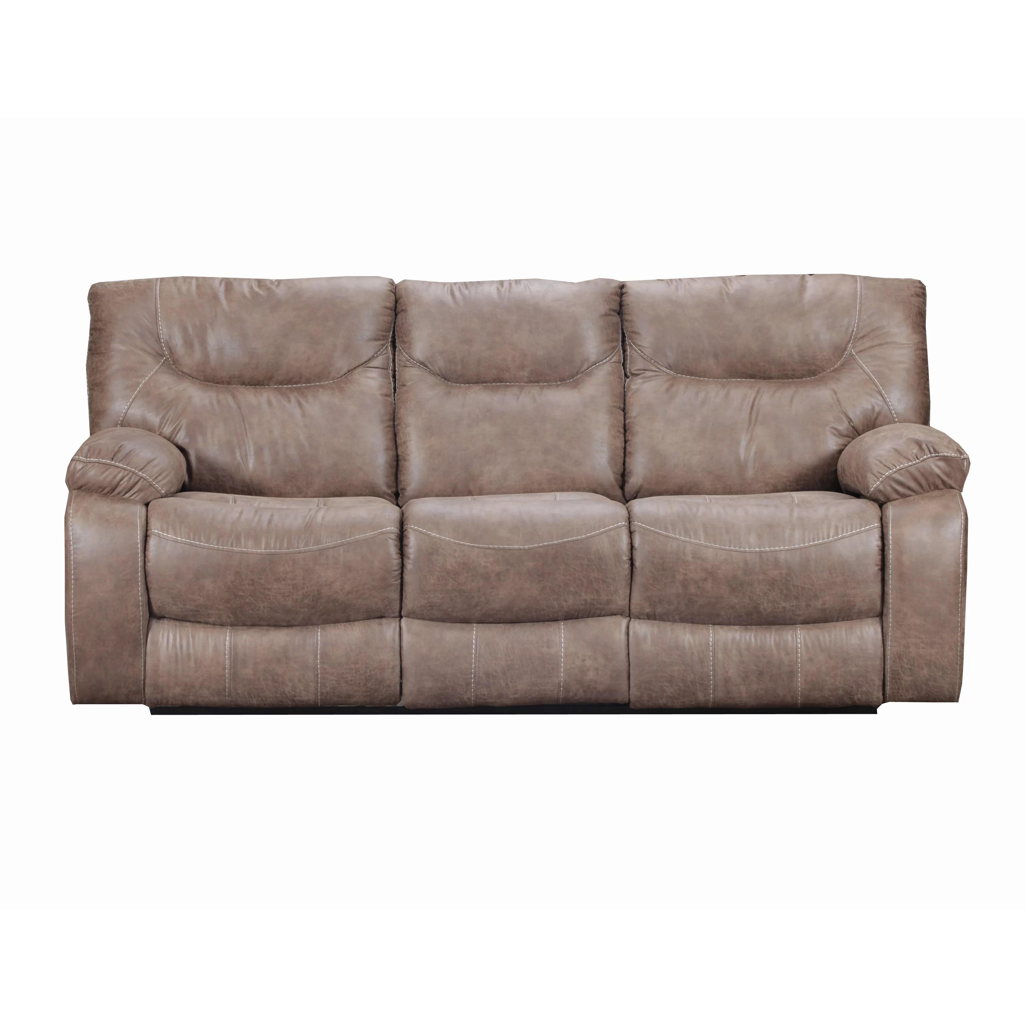 simmons beautyrest reclining sofa london road glasgow loon peak upholstery el capitan double motion
