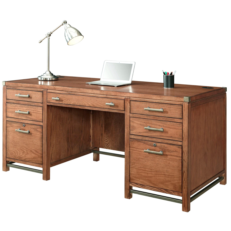 Trent Austin Design Menlo Park Double Pedestal Desk
