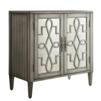 House of Hampton Wokingham 2 Door Mirrored Cabinet