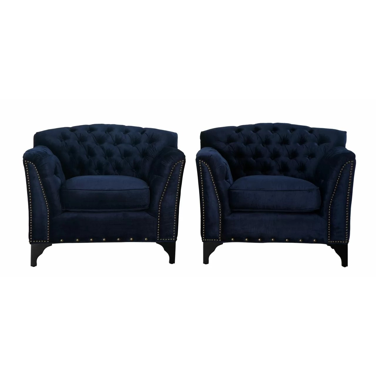 Velvet Club Chair House Of Hampton Sunstone Velvet Club Chair And Reviews