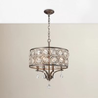 House of Hampton Norwich 4 Light Drum Chandelier
