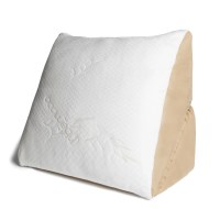 Avana Memory Foam Flip Pillow with Bamboo Cover & Reviews