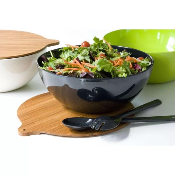 Yumi Eco Solutions Eco Bamboo Salad Bowl Set Wayfair