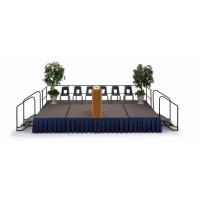Midwest Transfold Fixed Platform Carpet Deck | Wayfair Supply