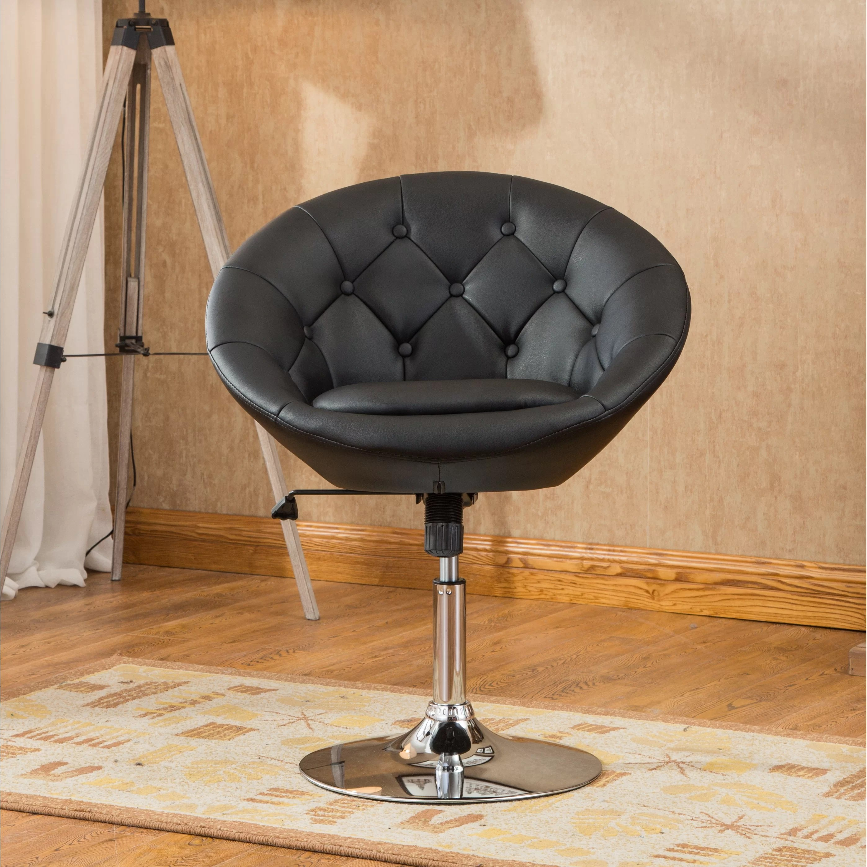 Roundhill Furniture Noas Contemporary Tufted Back Tilt