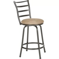 Roundhill Furniture Swivel Bar Stool & Reviews | Wayfair