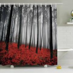 Fall Kitchen Curtains Black And White Tile Backsplash Ambesonne Print Shower Curtain Reviews Wayfair