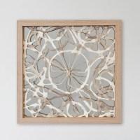 Bungalow Rose Abstract Layered Art Shadow Box Wall Dcor ...