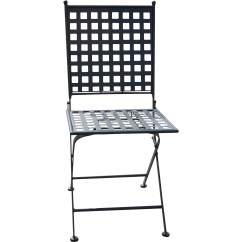 Folding Chair With Cushion Louis Ghost Bungalow Rose Kyra Dining Side Set