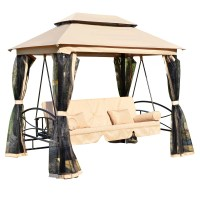 Outsunny Patio Porch Swing Canopy & Reviews | Wayfair
