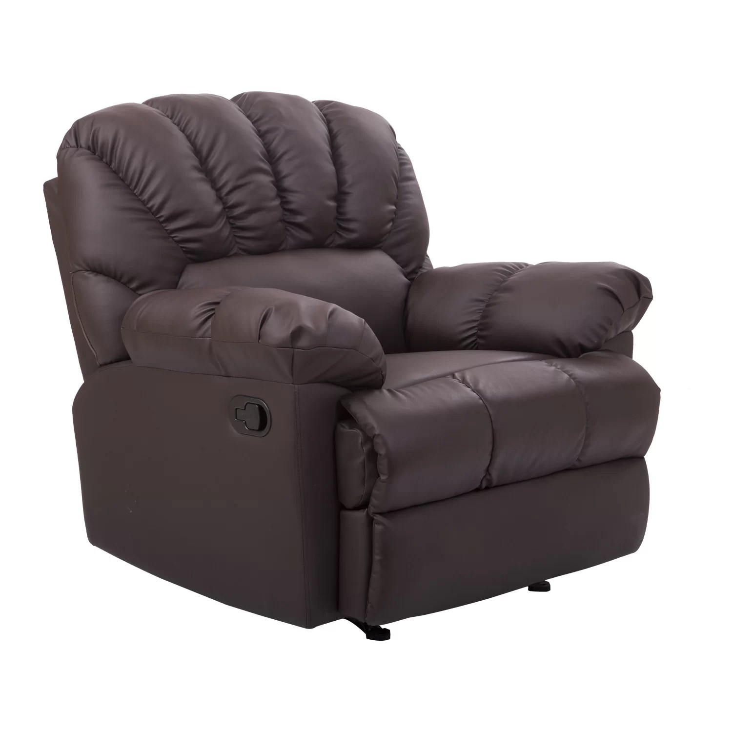 Reclining Rocking Chair Homcom Rocking Sofa Recliner And Reviews Wayfair