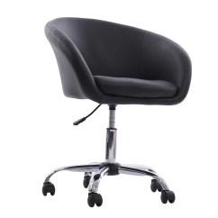 Swivel Office Chair With Wheels Salon Chairs Ebay Homcom Tub And Reviews Wayfair
