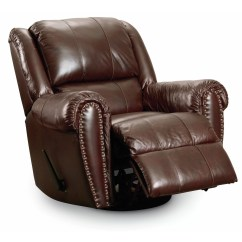 Lane Leather Office Chair Brown Twin Pull Out Furniture Summerlin Power Glider Recliner Wayfair