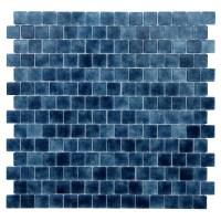 """Kellani Quartz .075"""" x 0.75"""" Glass Mosaic Tile in Dark ..."""