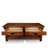 Leick Mission Impeccable Coffee Table & Reviews | Wayfair