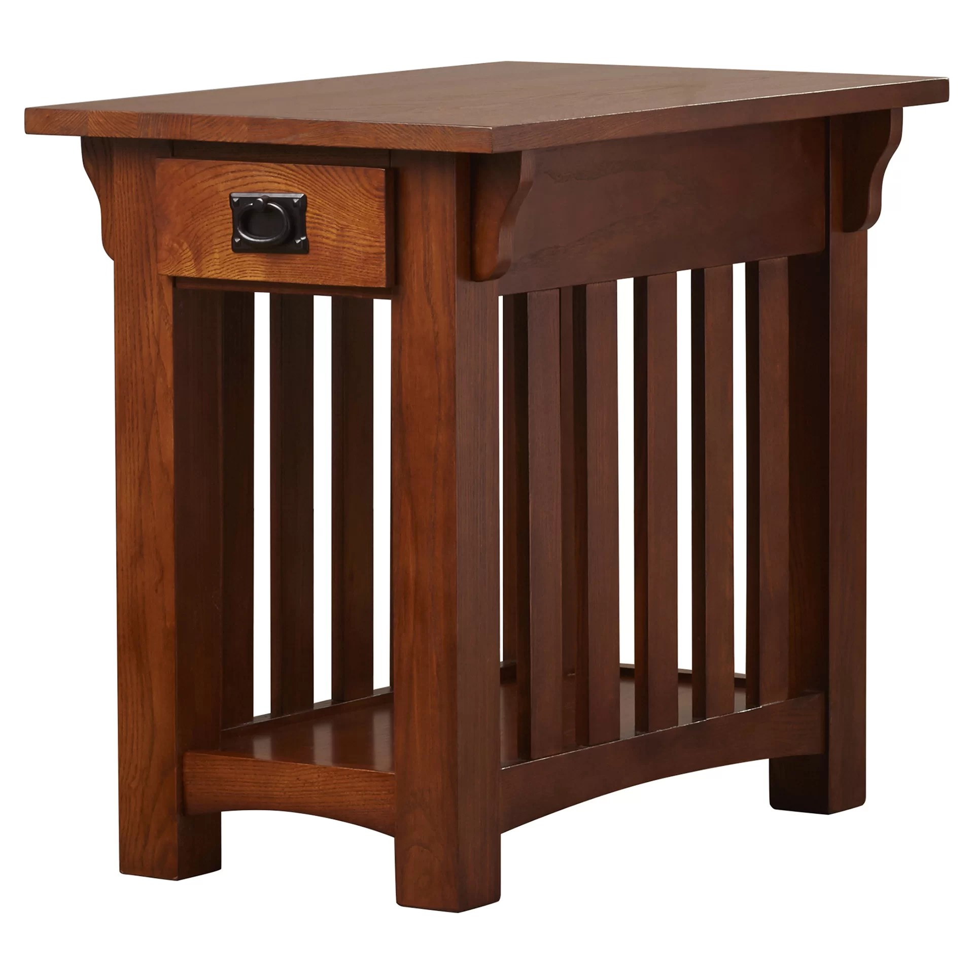 Chair Side Table Leick Mission Impeccable Chairside Table And Reviews Wayfair