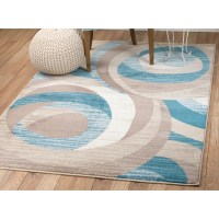 Rug and Decor Inc. Summit Turquoise Area Rug & Reviews ...