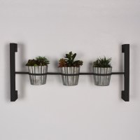 Kate and Laurel Groves 4 Piece Rectangular Wall Mounted