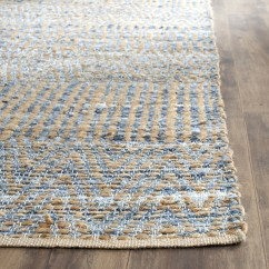 Chicken Kitchen Rugs New Breakwater Bay Cromwell Hand-woven Natural/blue Area Rug ...