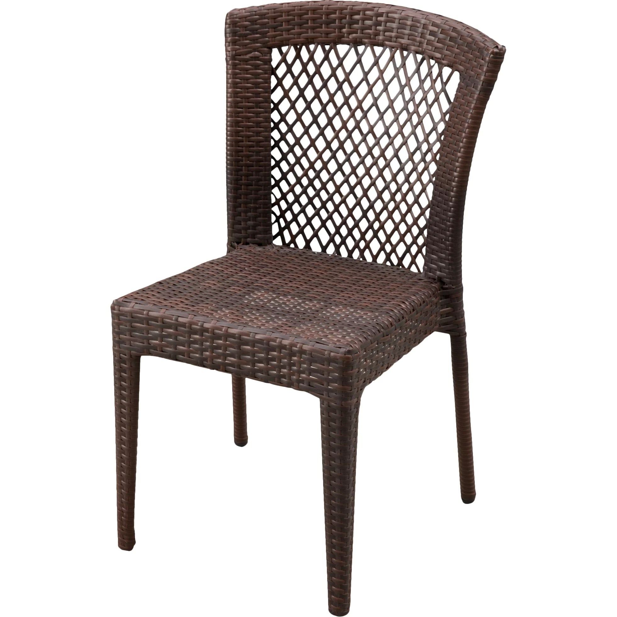 Wicker Patio Chair Breakwater Bay Dawson Outdoor Wicker Chair And Reviews Wayfair