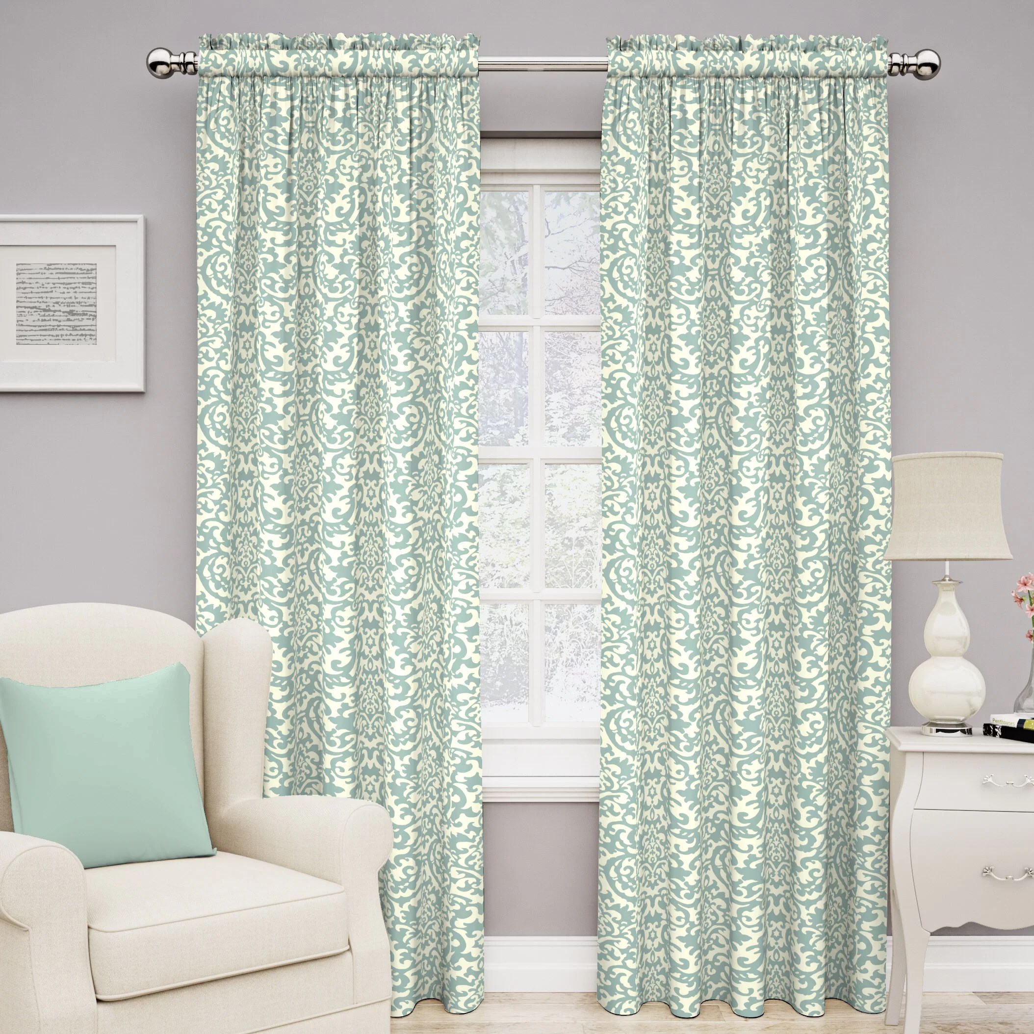 Traditions by Waverly Duncan Single Curtain Panel  Reviews  Wayfair