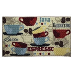 Coffee Kitchen Rugs Cabinets Sale Structures Textured Loop Area Rug And Reviews